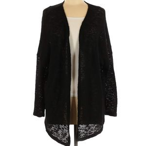 Mossimo | long sleeve black goth cardigan